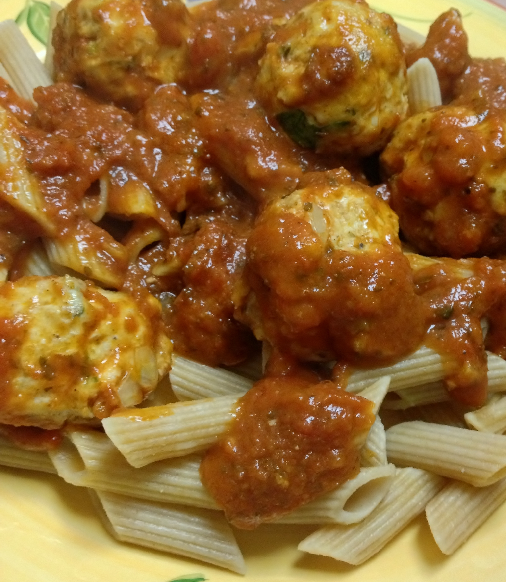 Sweet & Spicy Greek Turkey Meatballs | Heather's Creative Concoctions